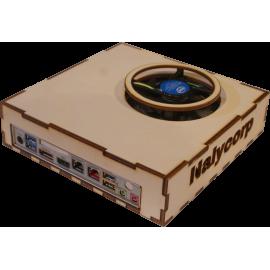Boitier Thin mini itx peuplier v1.0